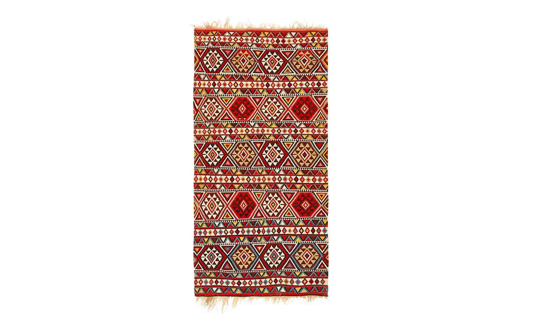 vintage russian handwoven flat weave rug abc carpet home 15