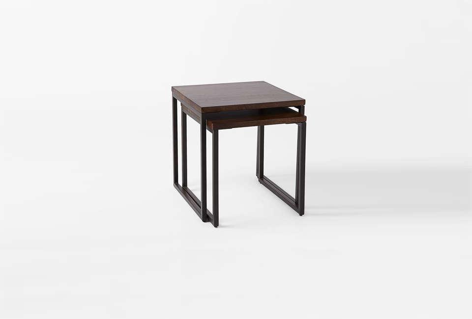 West Elm Box Frame Nesting Wood Tables