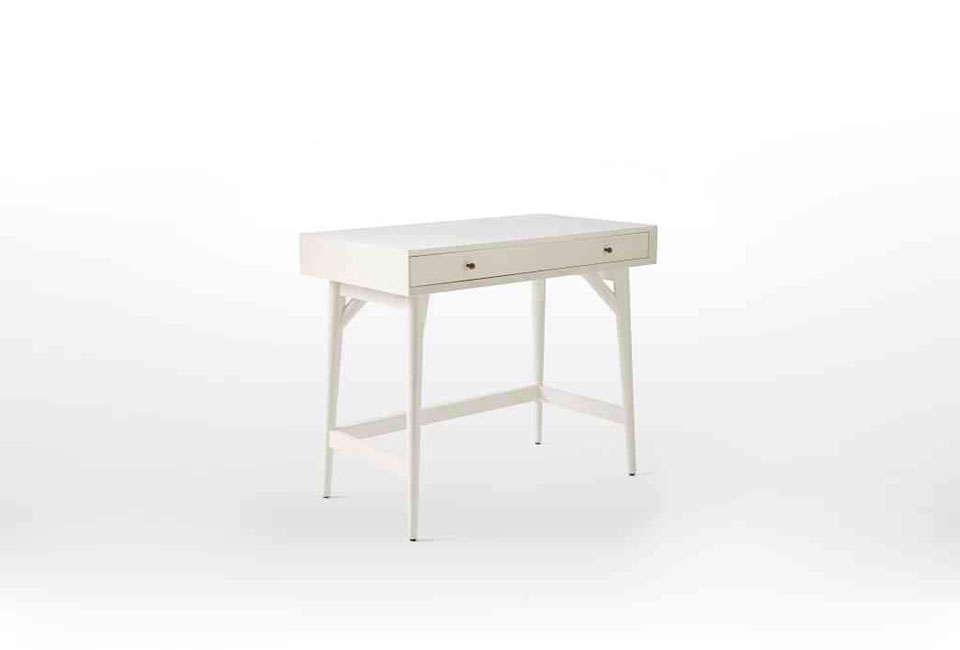 West Elm Mini Midcentury Desk in White