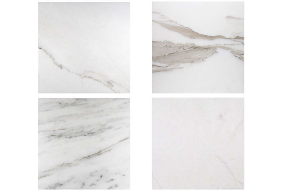 White Marble Varieties from Stone Source Marble Countertop Marble Countertops White Marble Countertops