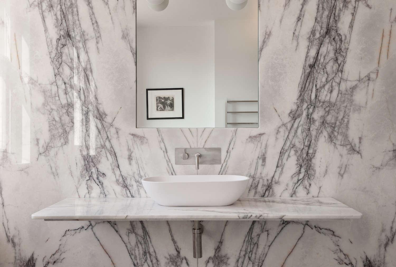 white marble slab bathroom in uk 9