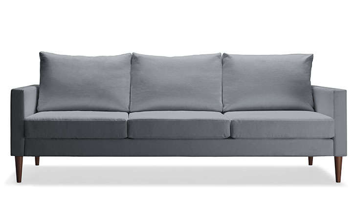 the flatpack sofa from campaign can be disassembled for easy storage and moving 10