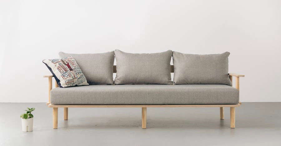 the flatpack sofa from greycor, a sofa that assembles without tools and can be  11