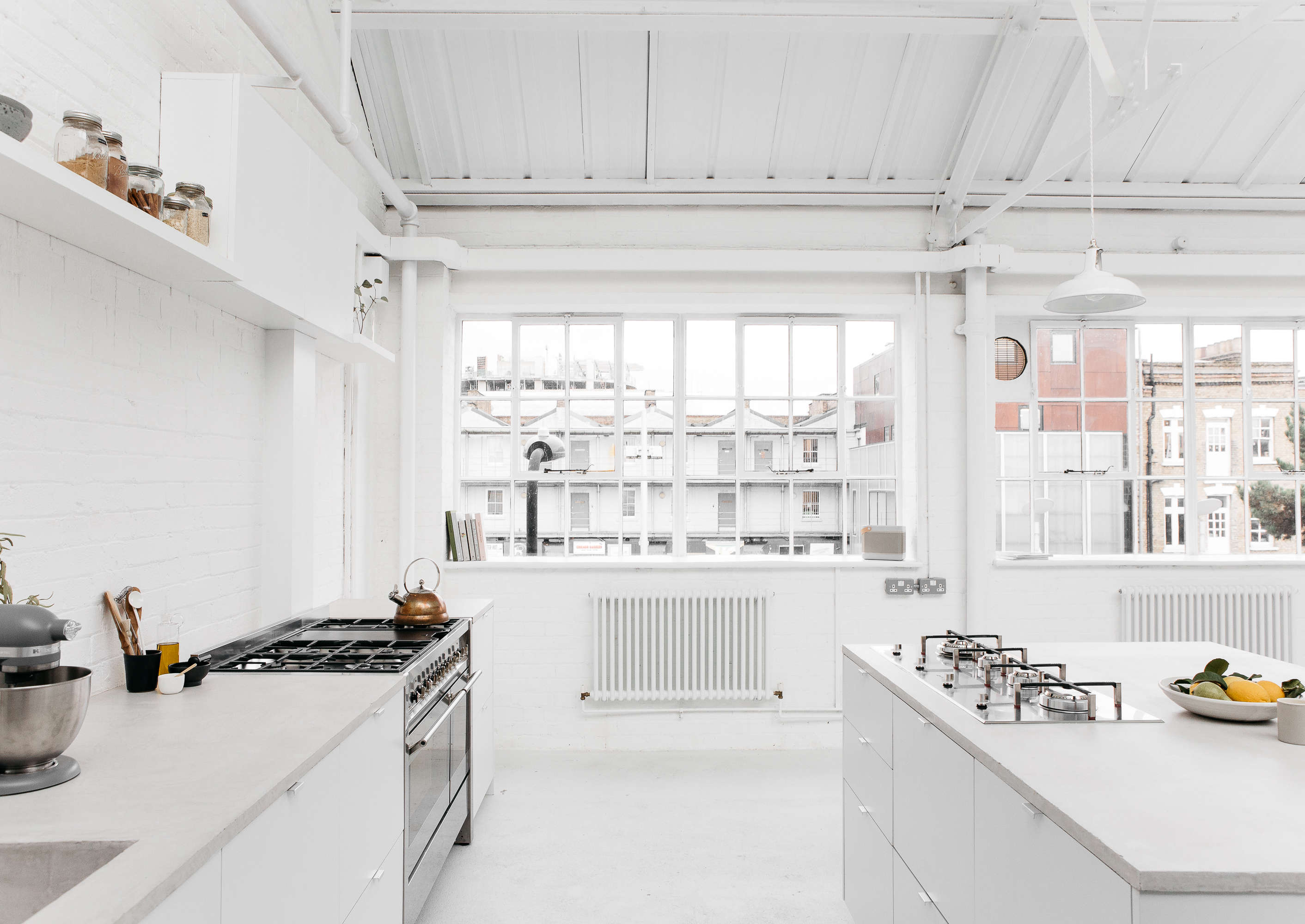 rye london a scandi inflected all white kitchen in london designed for use as a 11