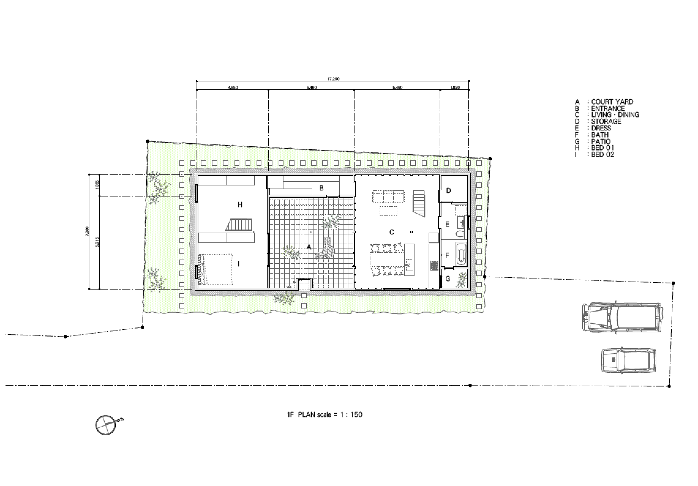 sabi beach house japan floor plan no.555 architects 17 23