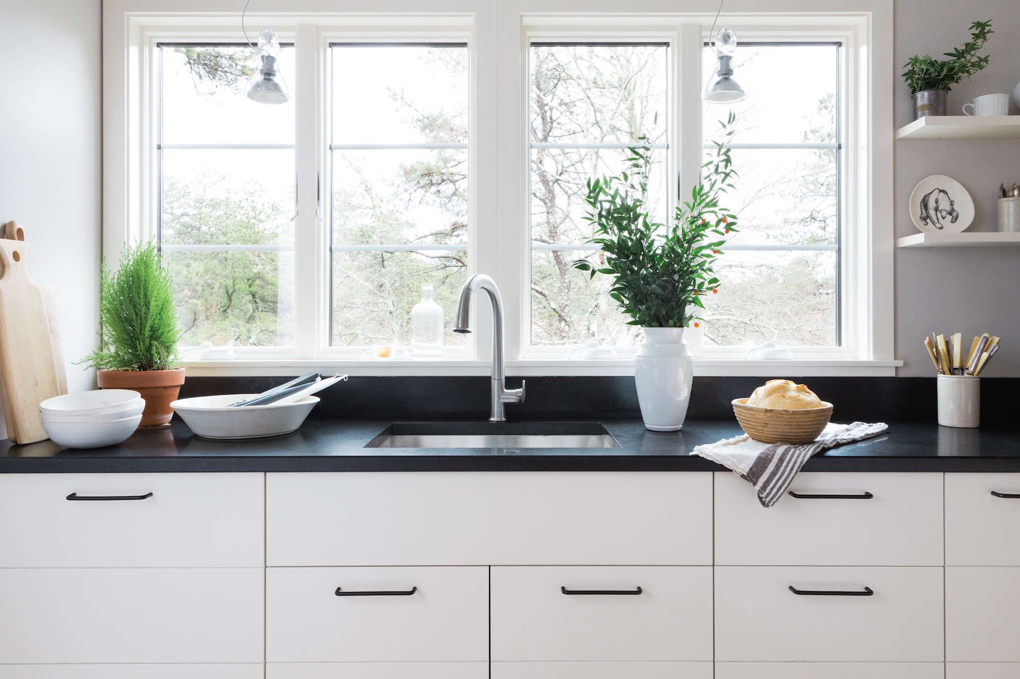 scandinavian inspired kitchen by remodelista with bosch home appliances 14