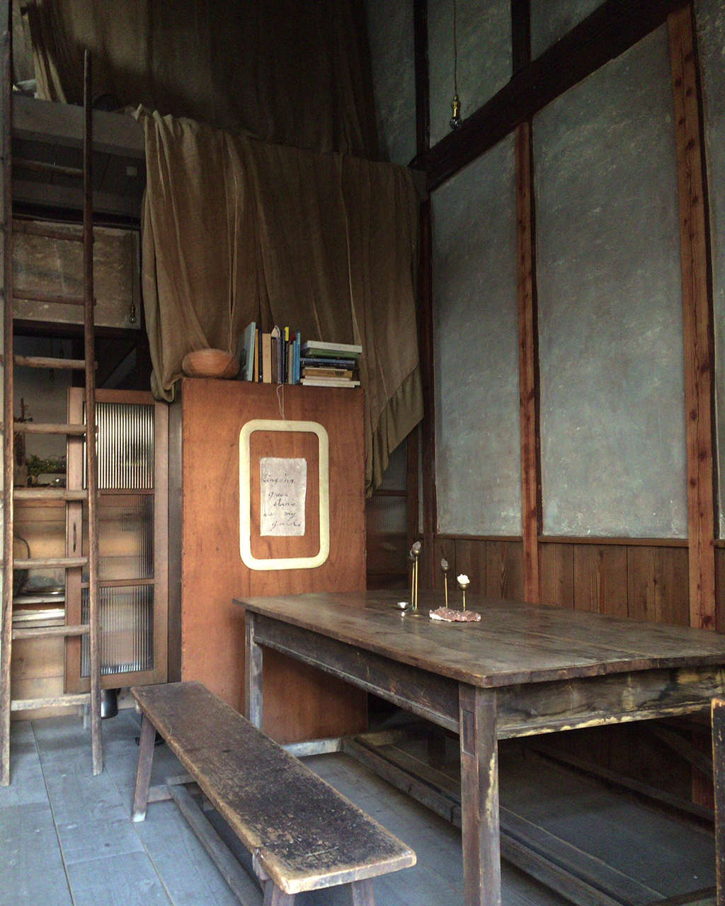 stardust vegetarian cafe in kyoto set in a historic wood house with original ja 13