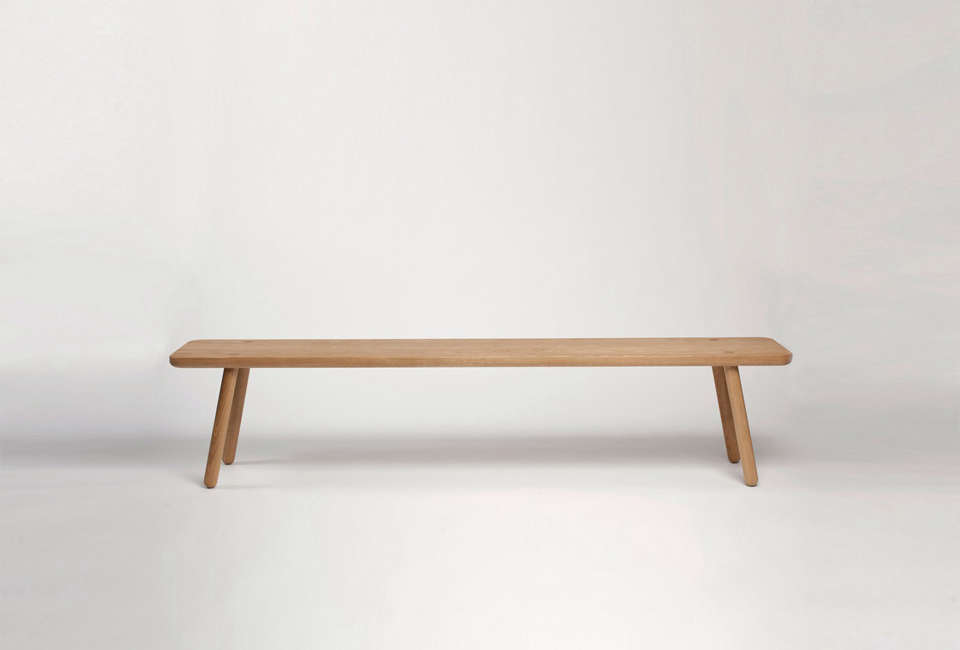Also in the same Another Country series is the Bench One in oak; £445.83.