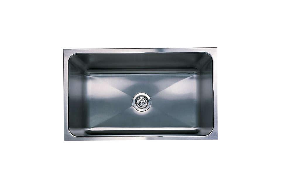 blanco magnum undermount single bowl kitchen sink 19