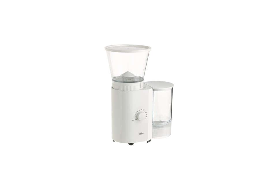 braun coffee/espresso mill in white 29