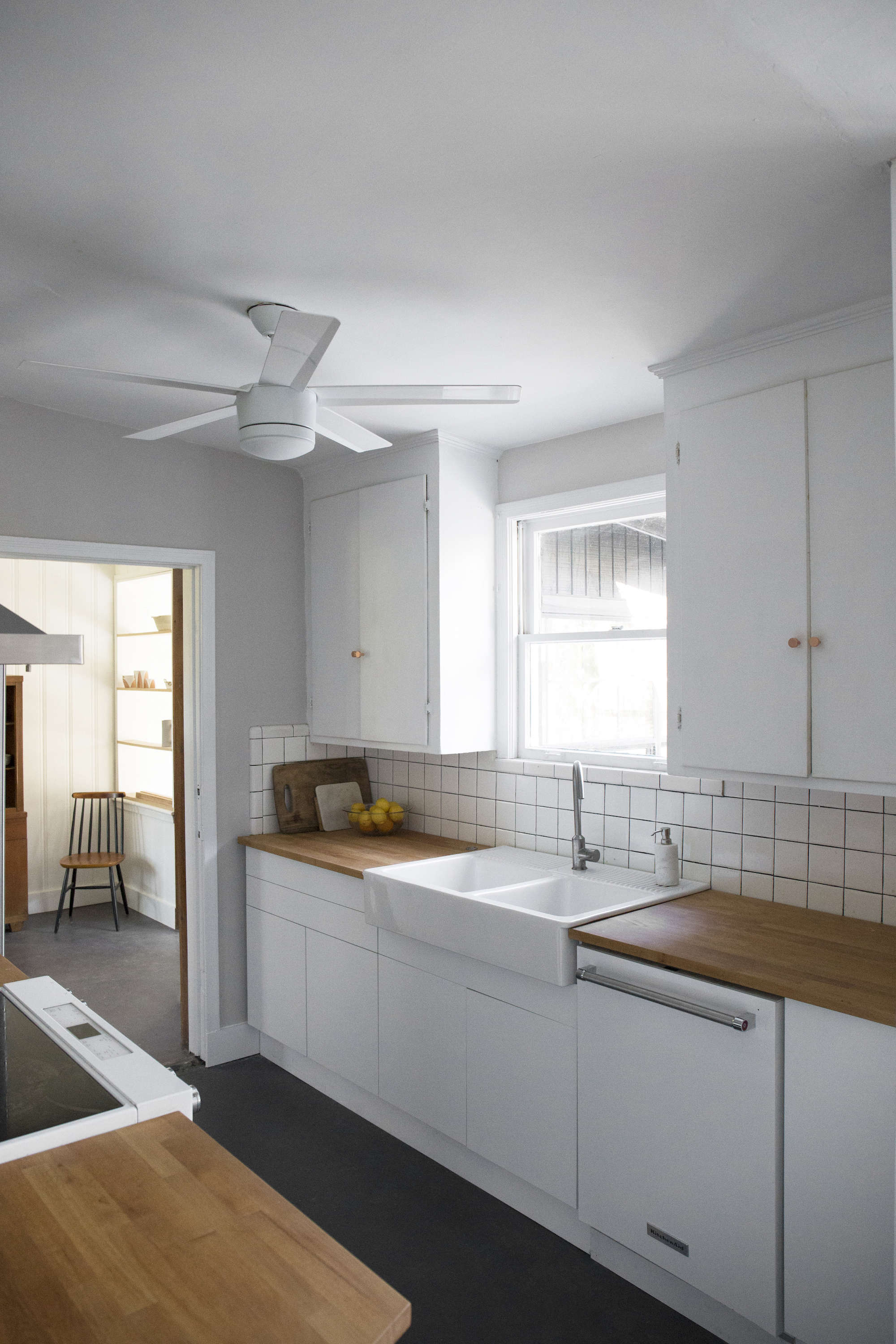 budget-kitchen-remodel-white-flat-front-cabinets