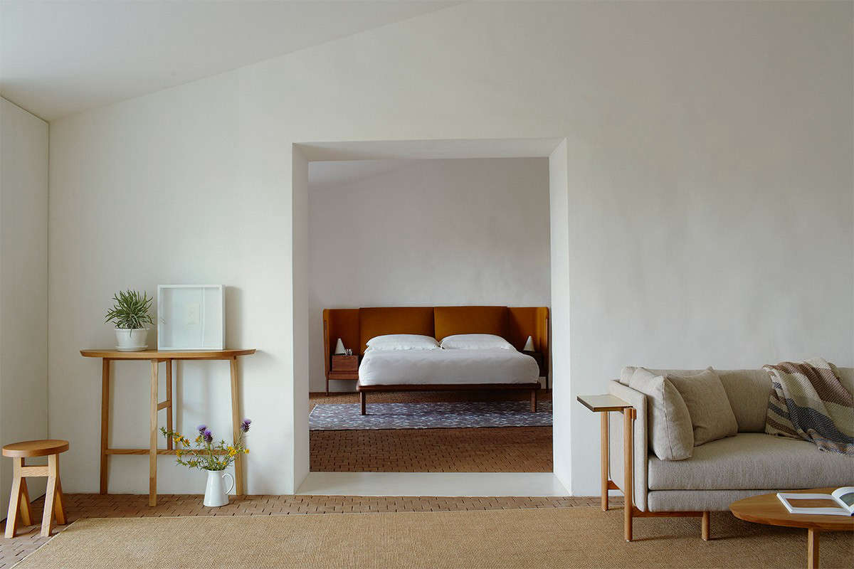 Steal This Look A Farmhouse Bedroom with Modern Furniture Casa No Tempo in Montemor o Novo, Portugal
