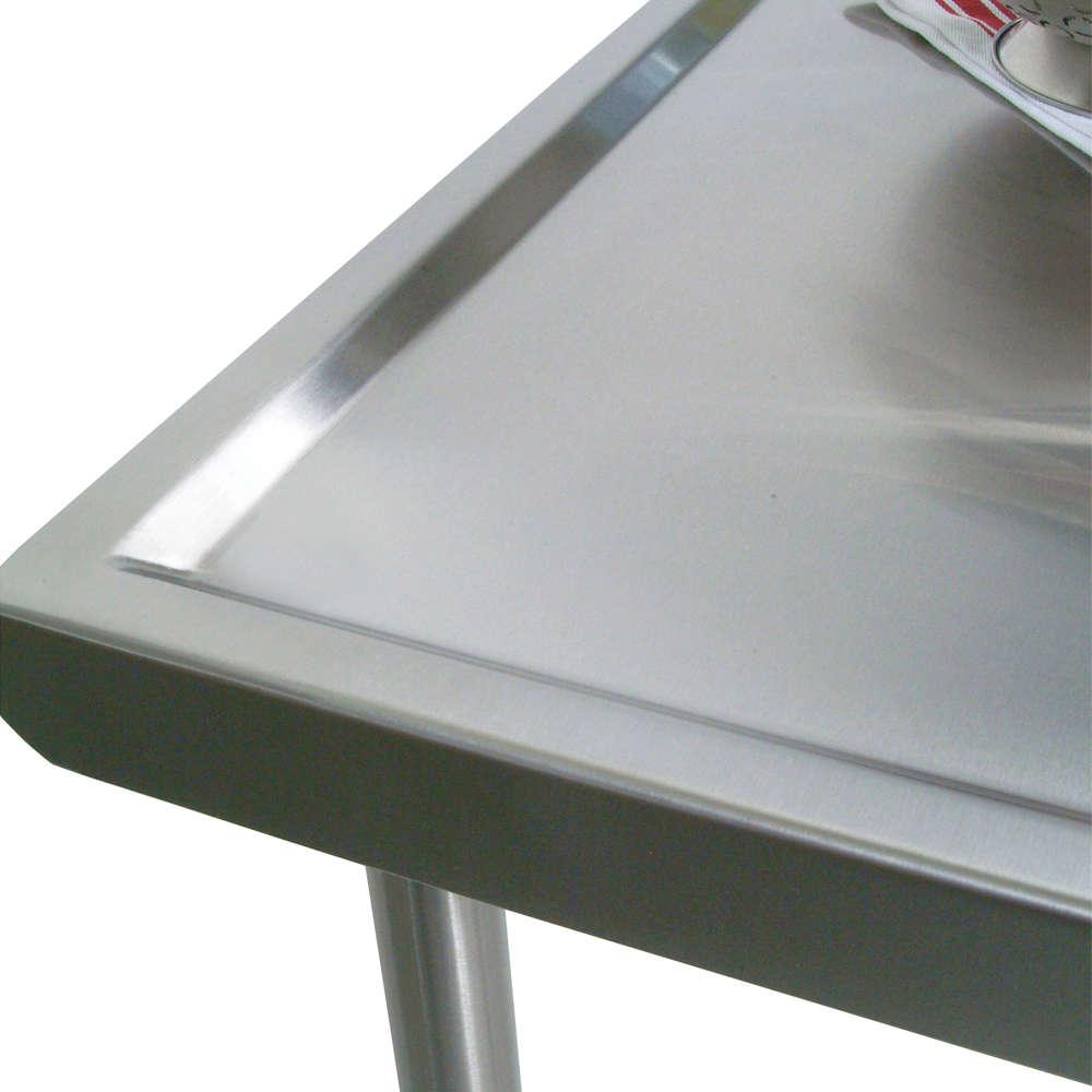Cucina Mariner Stainless Steel Marine Edge Table John Boos