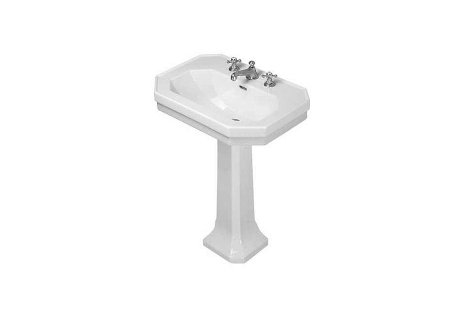 duravit series washbasin pedestal sink 17