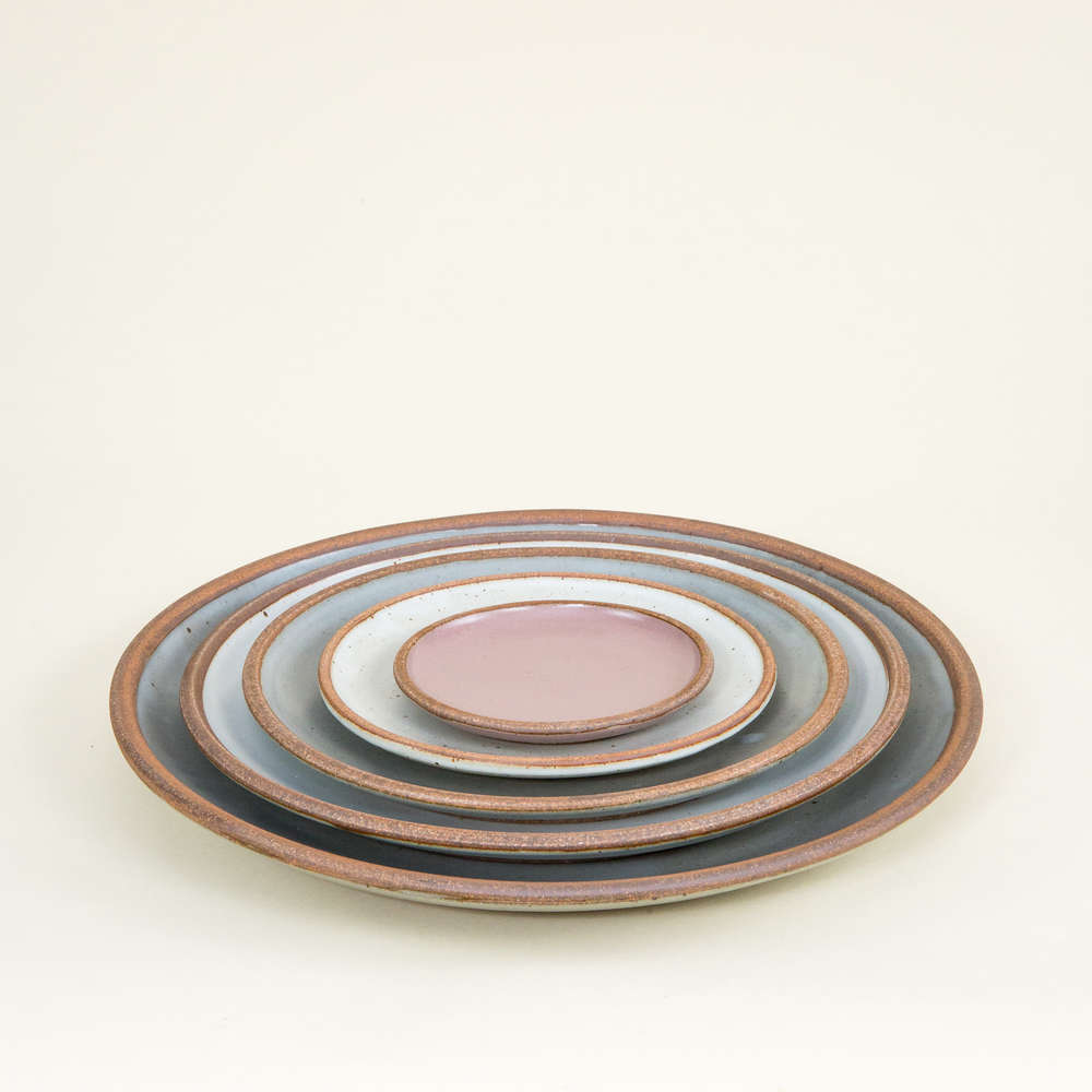 east fork pottery charger plate 14