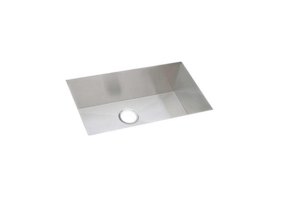 elkay avado stainless steel single bowl undermount sink kit 13