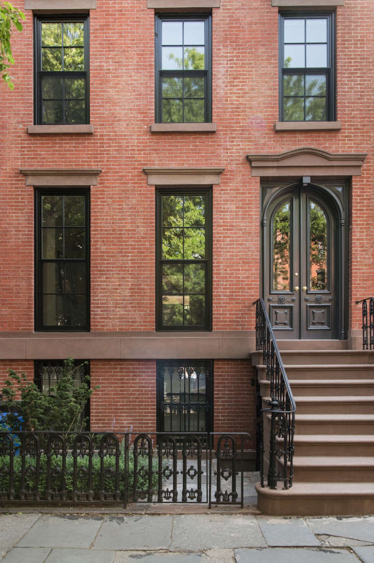 Brick is a classic facade choice in any neighborhood. Photograph by Dustin Aksland, courtesy of Elizabeth Roberts Architecture.