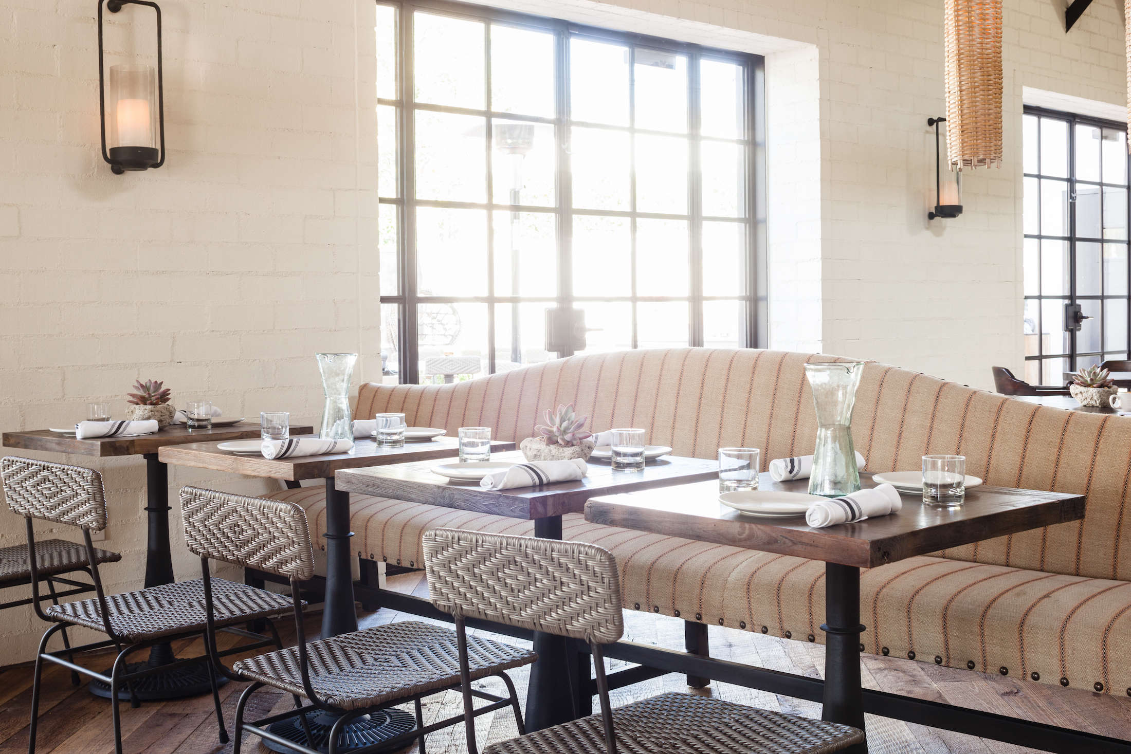 gracias-madre-restaurant-west-hollywood-la-natural-striped-banquette