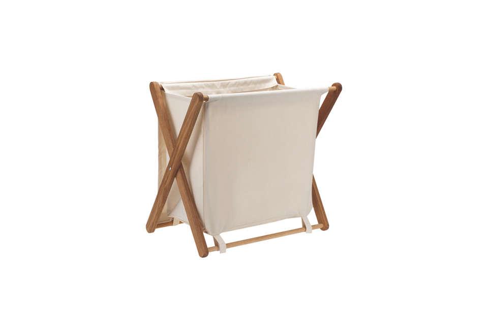 Habitat Folding Canvas Laundry Hamper