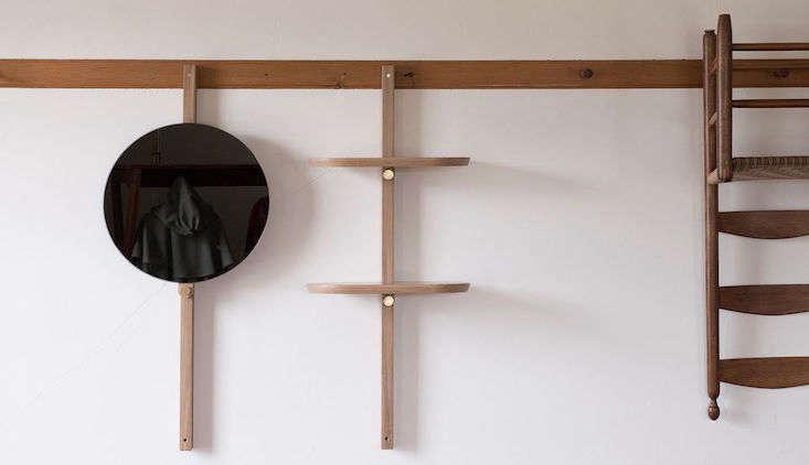 Current Obsessions Vital Designs hallgeir homstvedt doverail mirror and shelf mjolk remodelista obessions