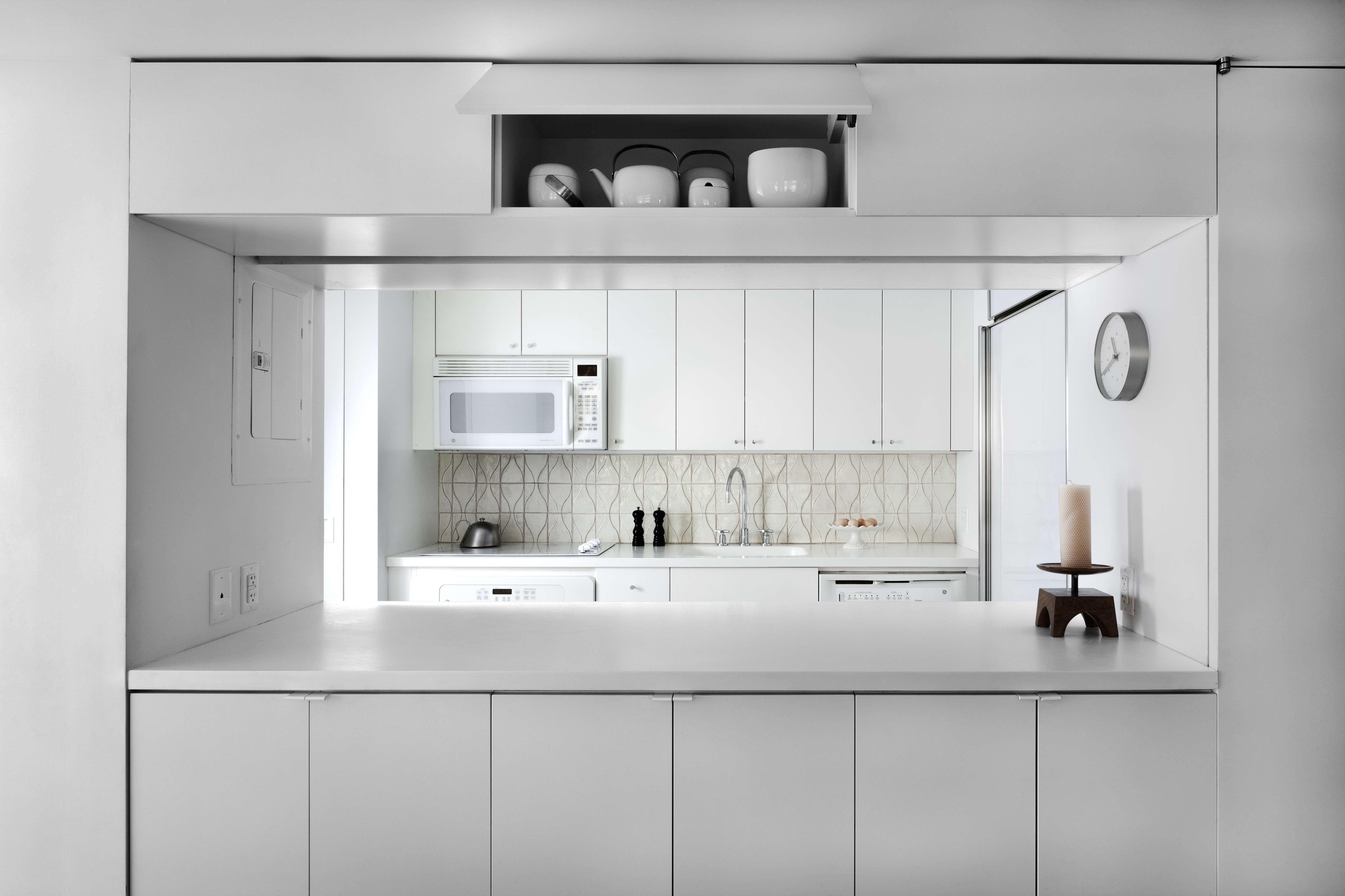 jennifer hanlin cobble hill apartment kitchen, photo by bruce buck 12