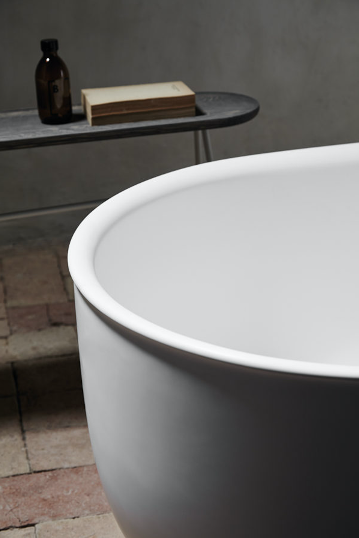 A Nostalgic Bath Collection from a Copenhagen Design Firm Inbani for Norm Architects Prime Bathtub