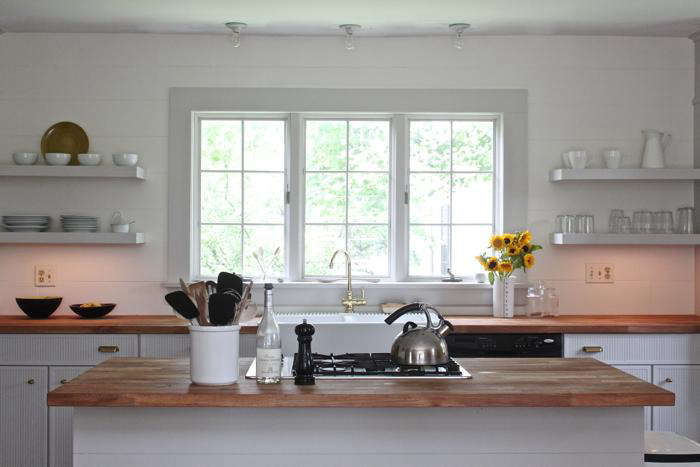 13 Favorite CostConscious Kitchen Remodels from the Remodelista Archives Justine Hand Kitchen by Jersey Ice Cream Co