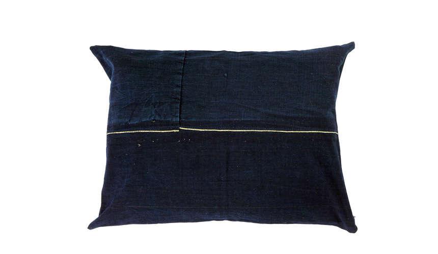 kofu creative corners patched indigo pillow 11