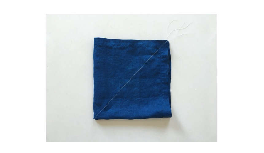 kofu curious corners indigo napkin 14