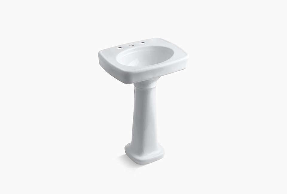 kohler bancroft pedestal bathroom sink 14