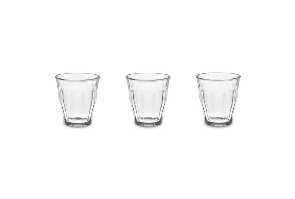 Steal This Look A CostConscious Retro Kitchen in London Picardie Glass Tumblers Set of 6 Williams Sonoma