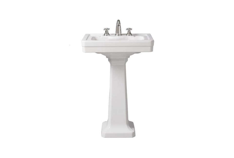 porcher lutezia pedestal lavatory slab sink 15