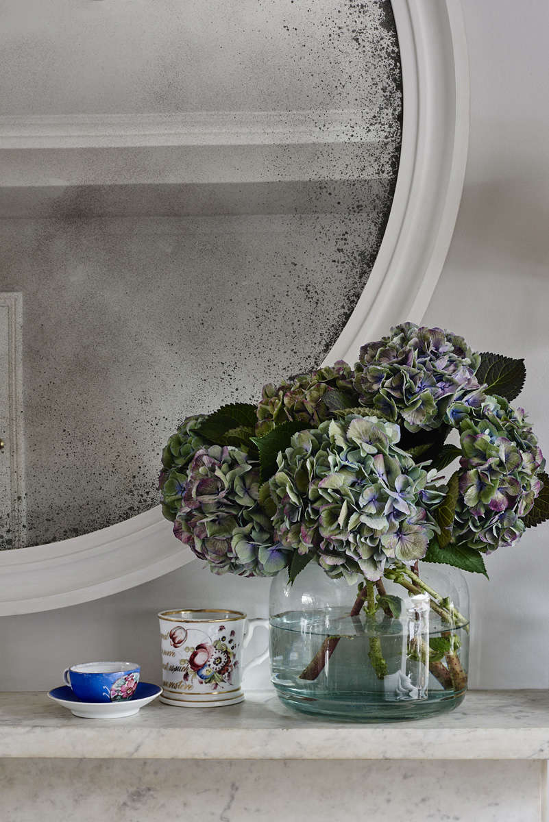 reid and wright mirror ridge french grey gesso finish antiqued glass 10