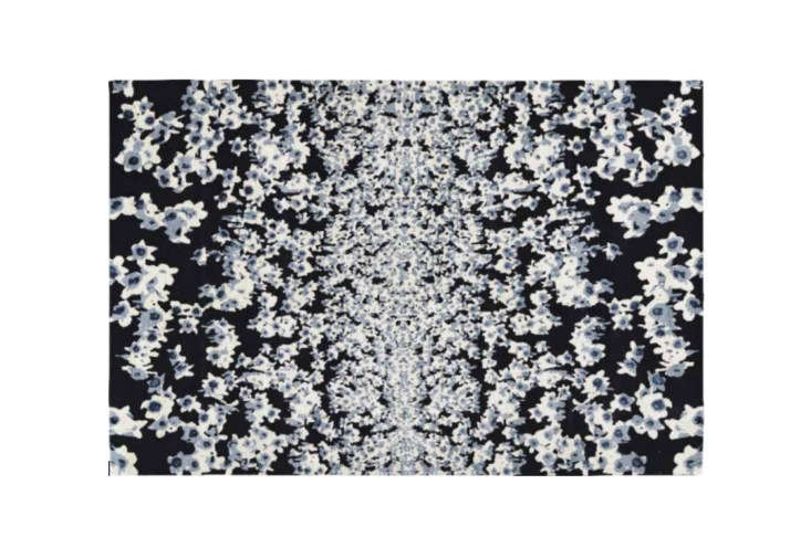 Steal This Look A Farmhouse Bedroom with Modern Furniture The Valley Rug by Mary Katrantzou is \$\158 per square foot at the Rug Company.