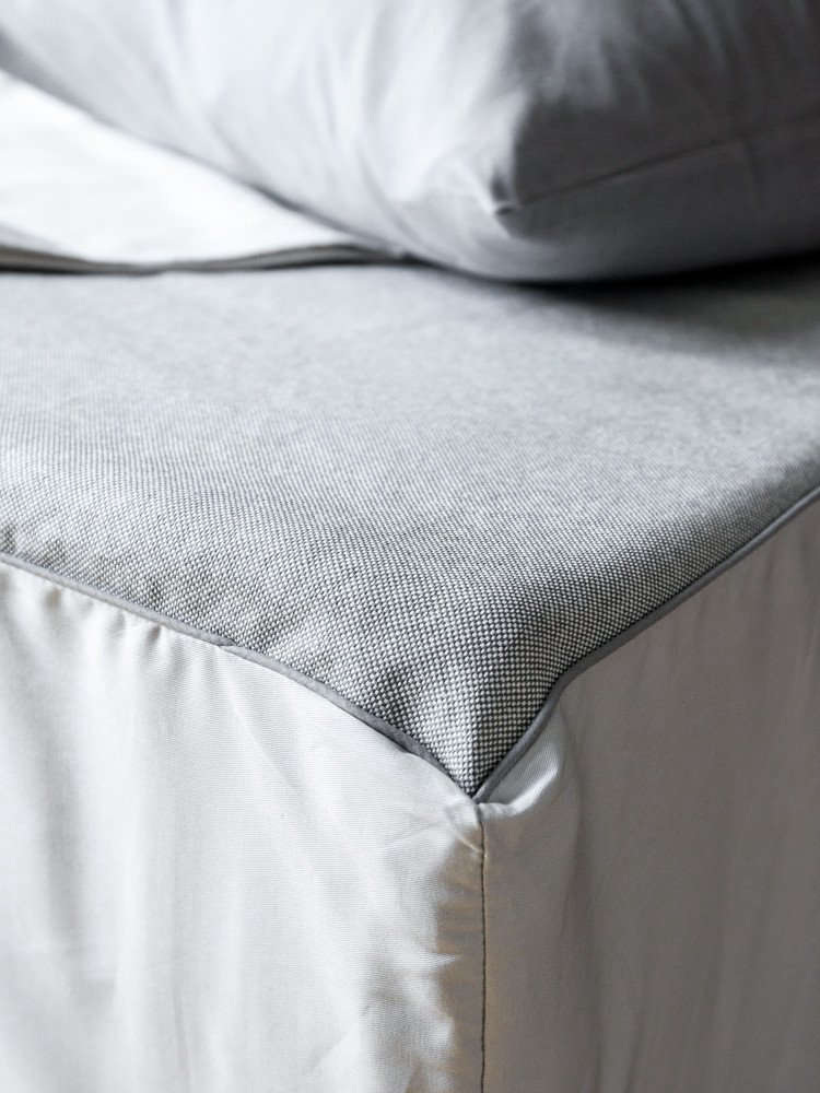 A Long Winters Nap An Innovative New Bedding Line from Japan Sasawashi Fitted Sheet by Rikumo