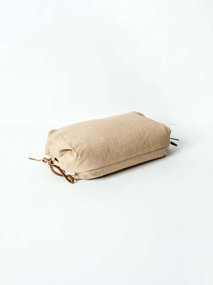 A Long Winters Nap An Innovative New Bedding Line from Japan Sasawashi Lounge Pillow by Rikumo