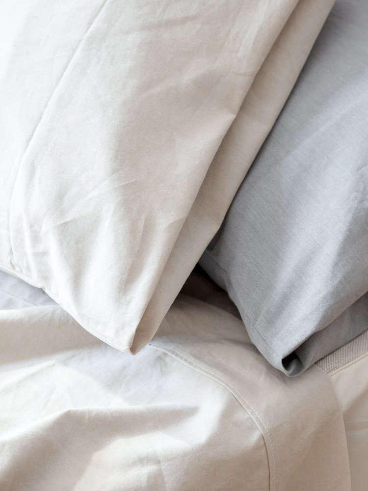 A Long Winters Nap An Innovative New Bedding Line from Japan Sasawashi Pillowcases by Rikumo