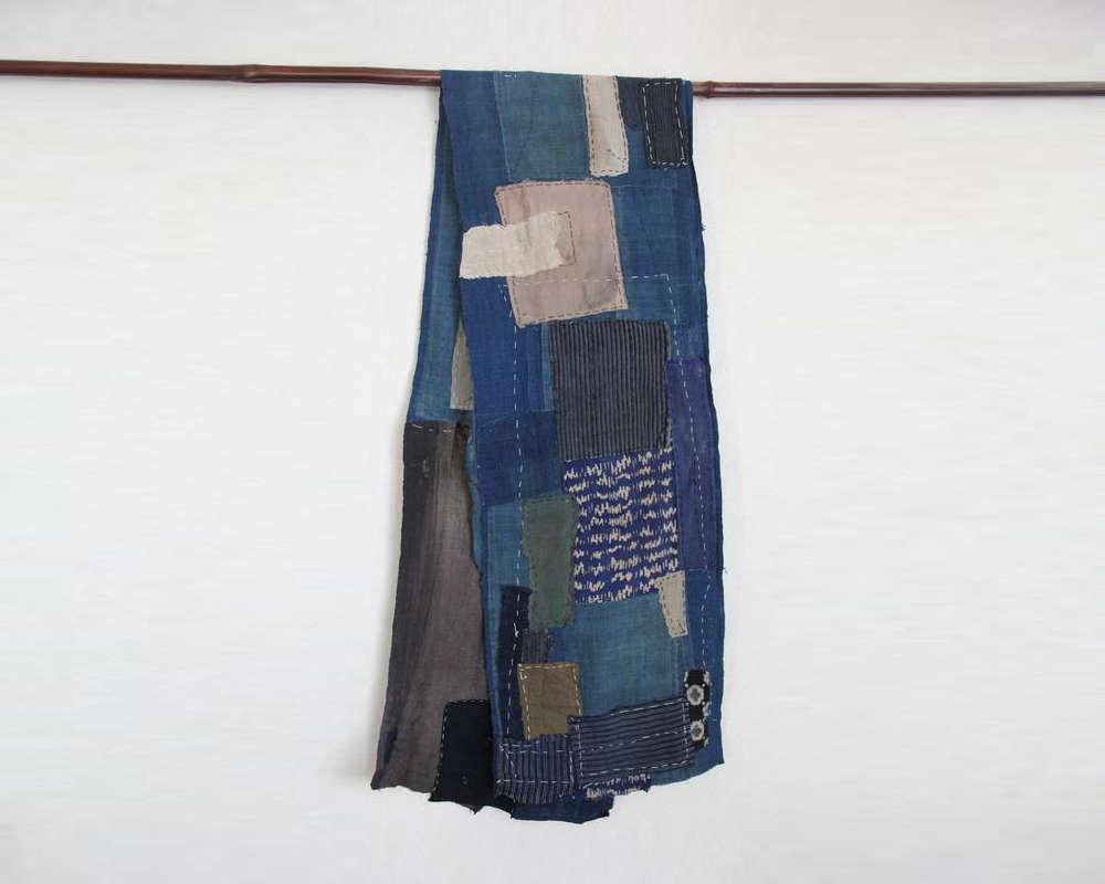 sashiko boro scarf 19
