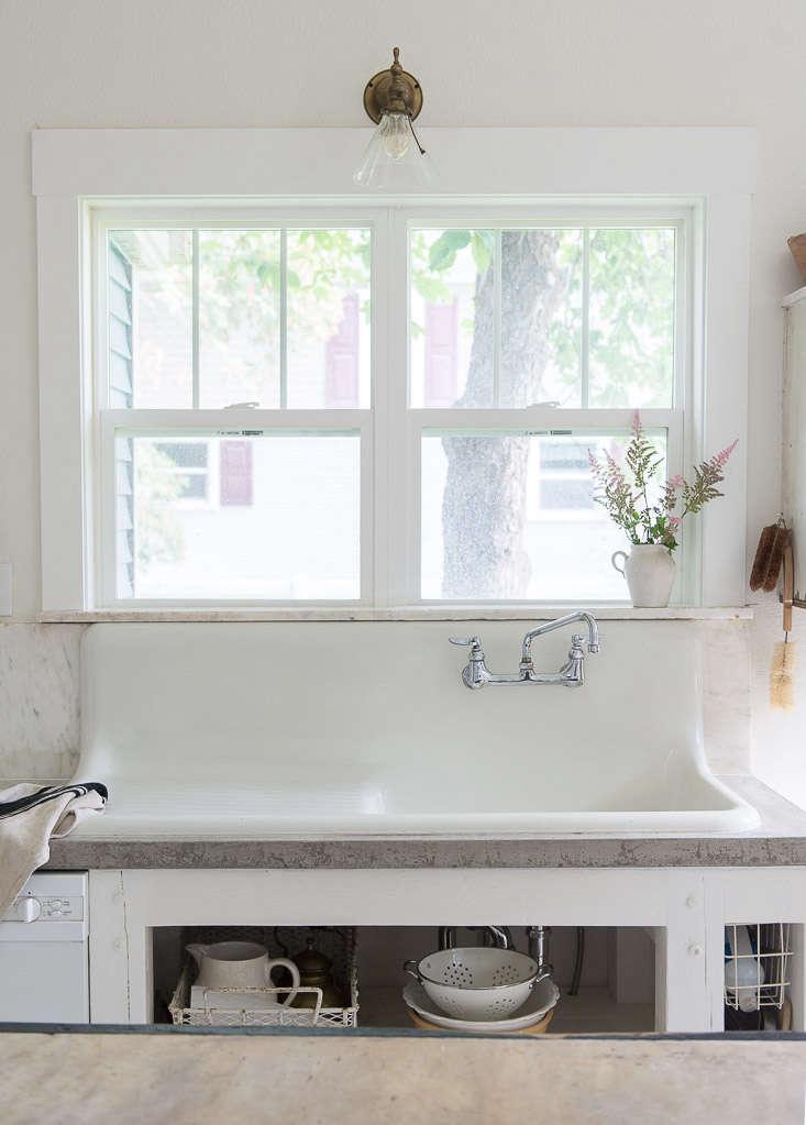 vintage whites blog farmhouse sink budget kitchen remodel 16