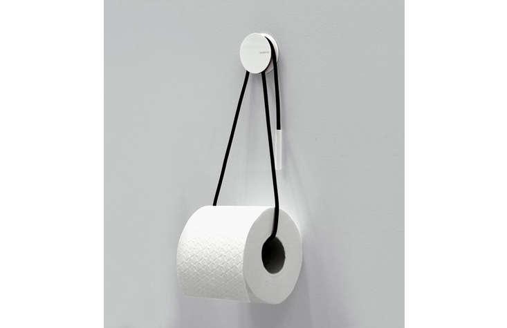 black cord toilet roll holder 17