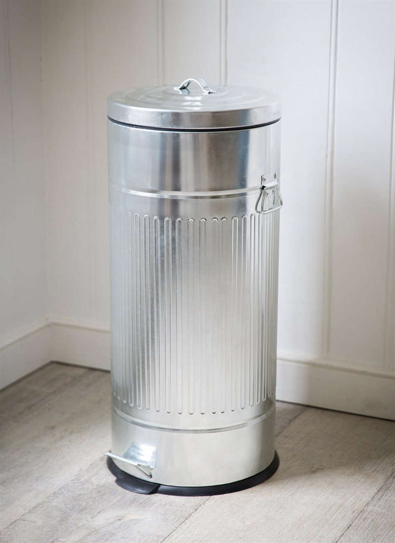 Garden Trading, which is based in Oxfordshire, England, currently offers the Pedal Bin in galvanized steel for £45 ($56.67). It has a plastic liner that holds a 30-liter (7.9-gallon) garbage bag in place, and it&#8