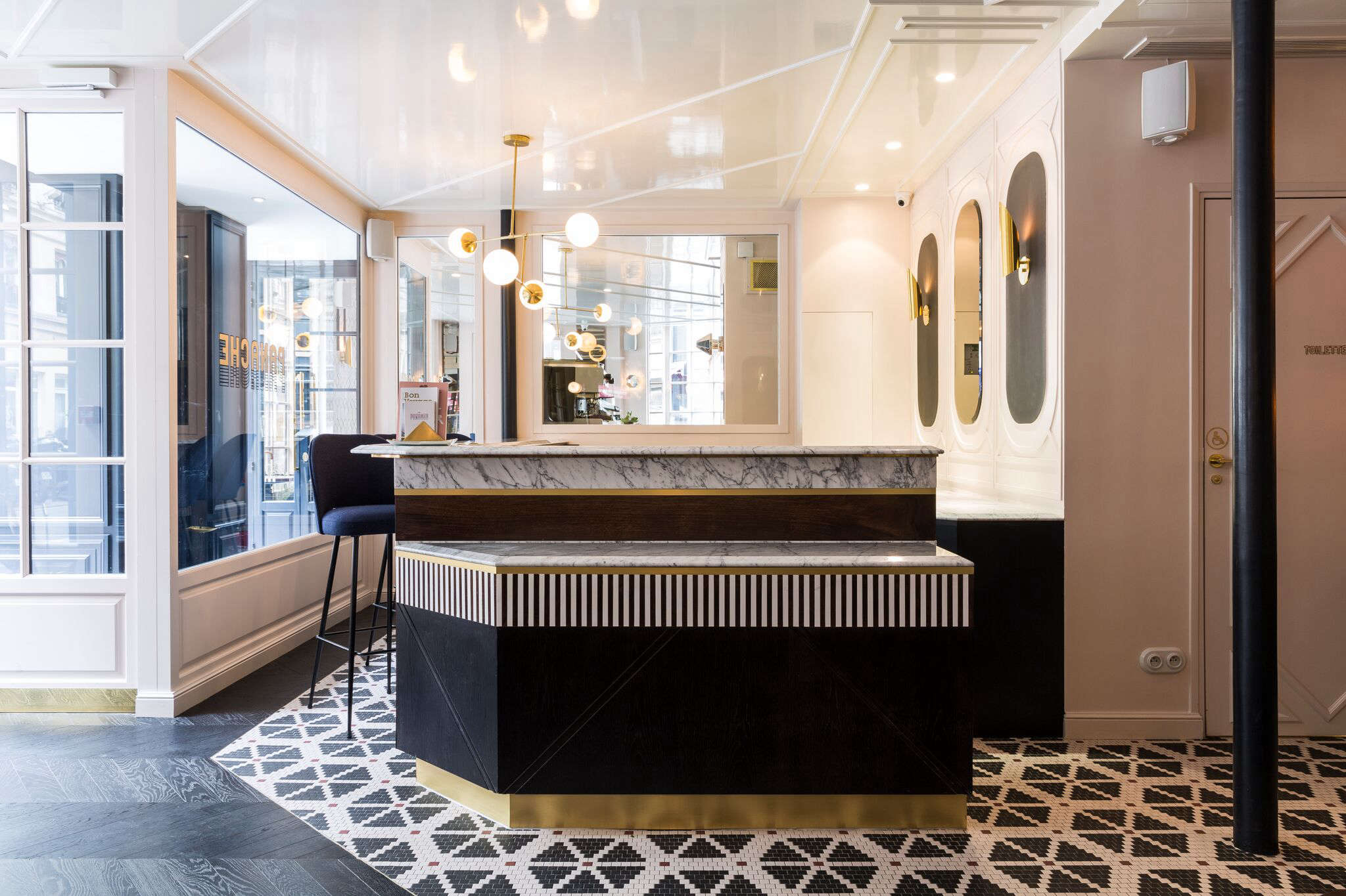Located in the Ninth Arrondissement, near the Folies Bergères cabaret, Hotel Panache is in a late-th-century building on the corner of Rue Geoffroy Marie and Rue du Fauborg Montmartre that, says Meilichzon, &#8