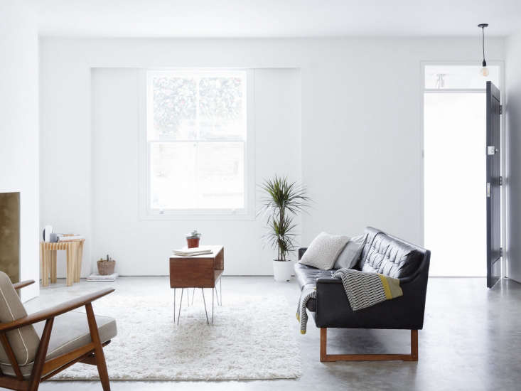 the family occupies the first two floors of a terrace house in islington that 9