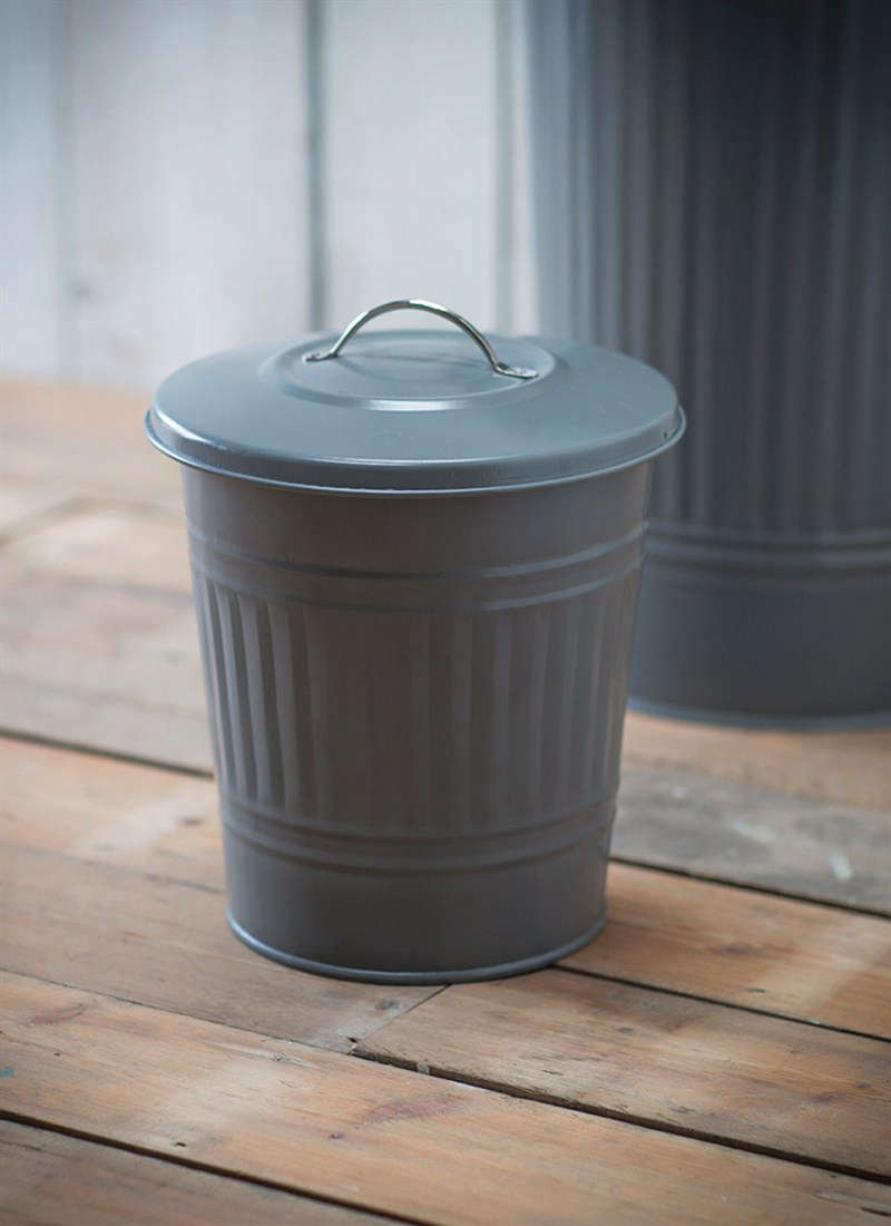 a \2.7 gallonmini bin, \1\2.9 inches tall and 9.8 inches deep, is £\25 (\$3\ 12