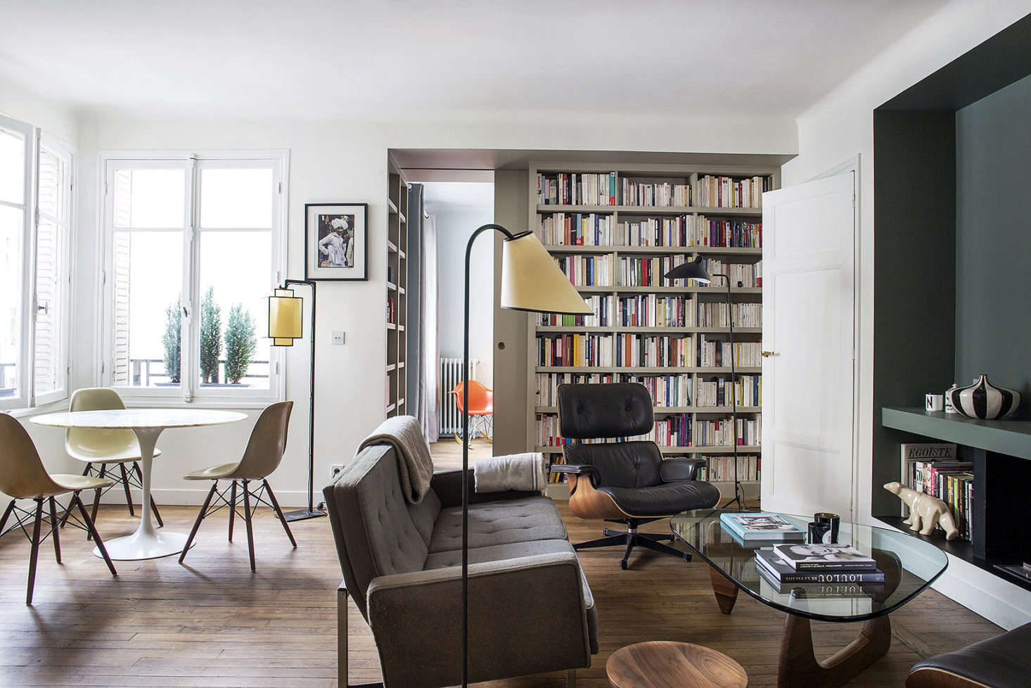 9 Small Space Ideas To Steal From A Tiny Paris Apartment