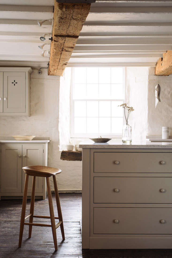 the latest from british kitchen company devol: the bum stool, a solid oak bar s 11