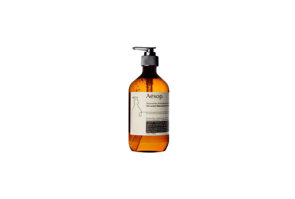 The Aesop Resurrection Aromatique Liquid Hand Soap is $39 from Aesop.