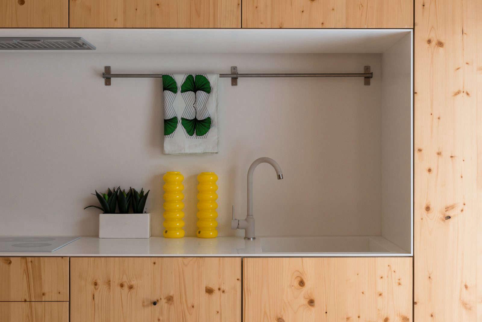 amin taha spruce apartment kitchen in london 10