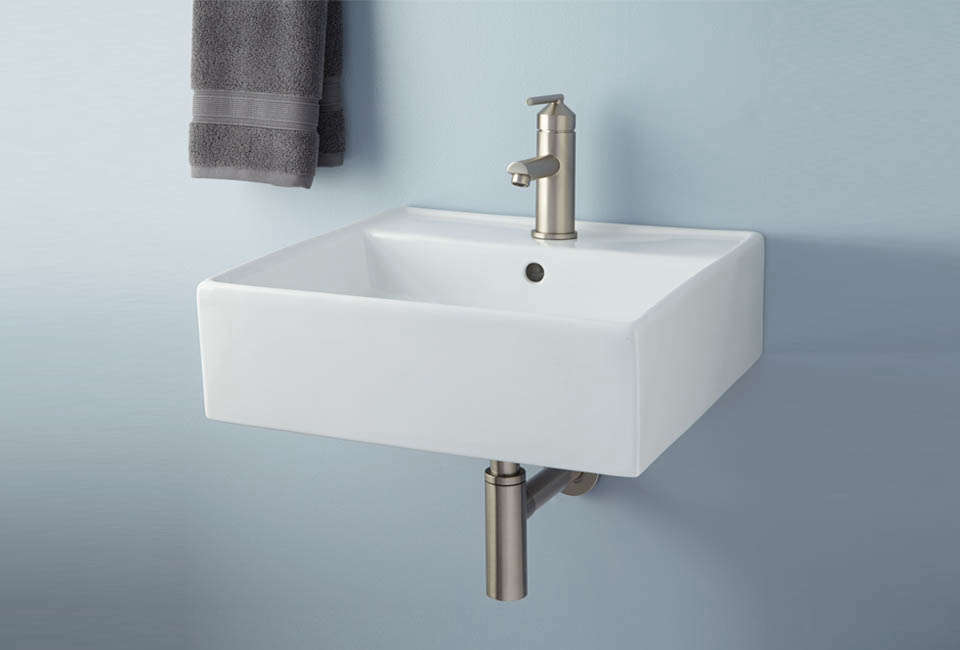 Audrie Wall-Mount Bathroom Sink