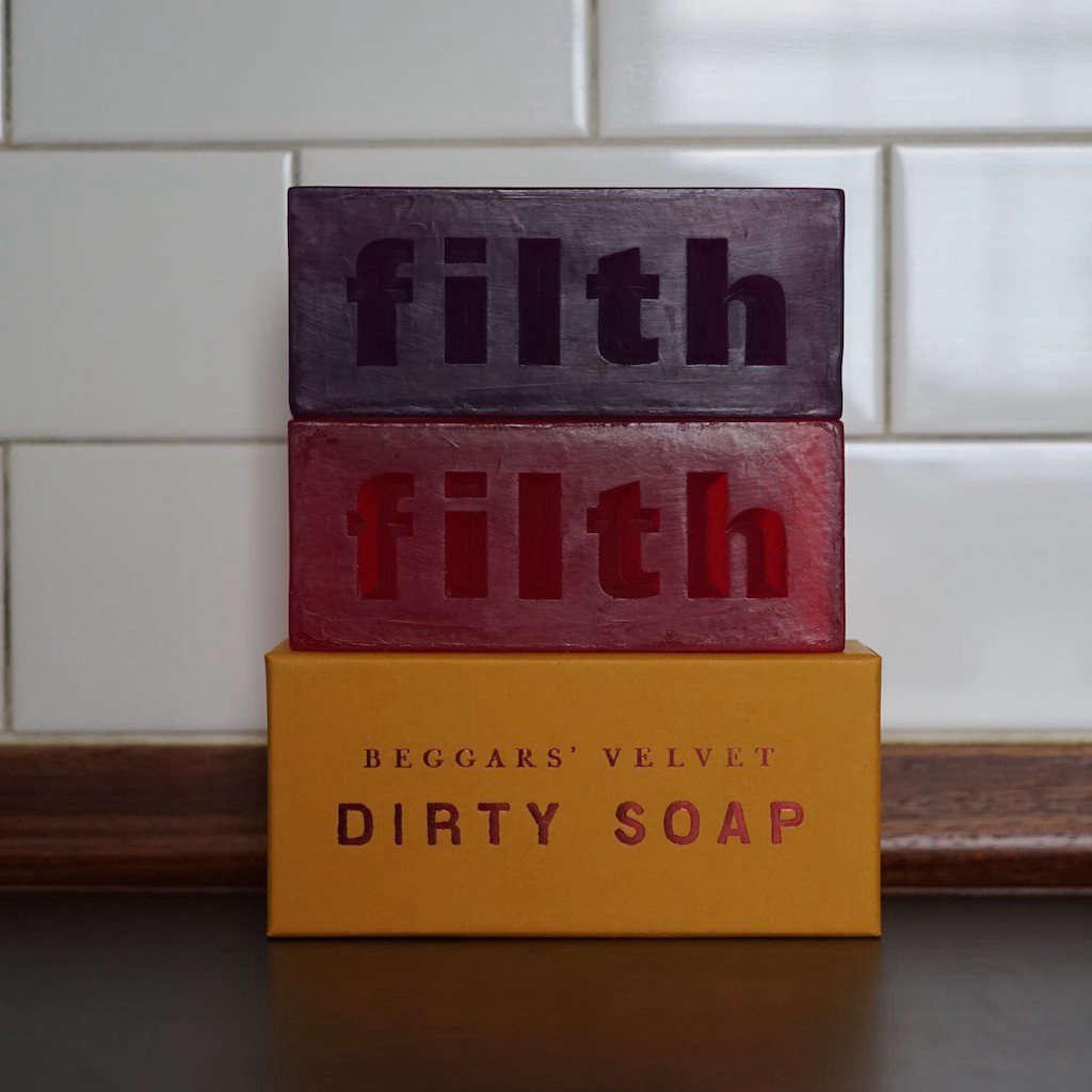 beggars velvet soap 12